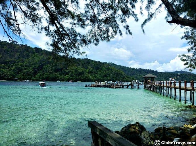 Island hopping in Malaysia -Kota Kinabalu Island