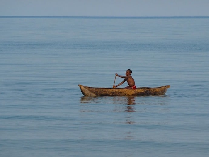 Lake Malawi, one of the Biggest Lakes in Africa