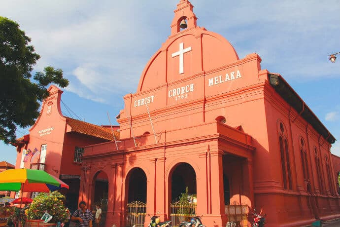 Malay History in UNESCO site Malacca, Malaysia