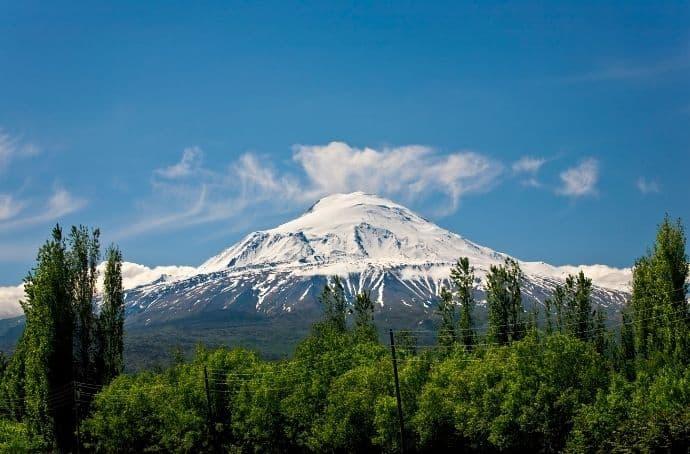 Mount Ararat in Turkey