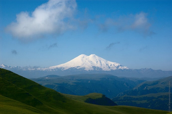 Biggest, Tallest Mountains - Mount Elbrus
