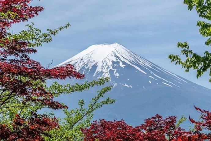 Biggest, Tallest Mountains - Mount Fuji
