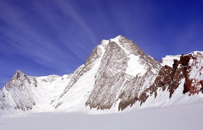 Mount Tyree in Antarctica