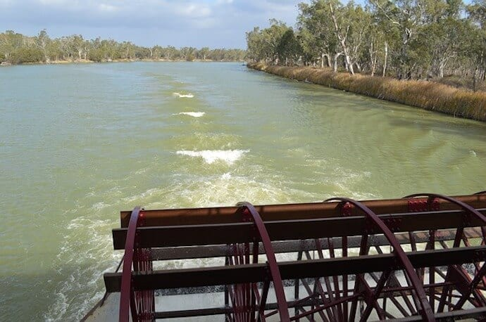 Longest River in Australia - Murray River