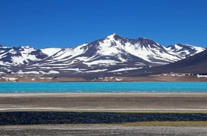 Nevado Ojos del Salado Mountain in Patagonia