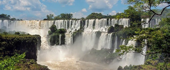 Major Rivers in South America - Parana