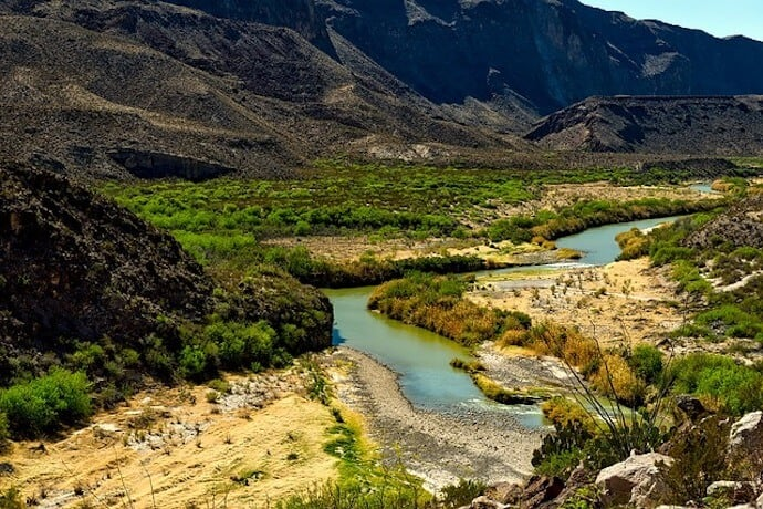 Longest River in Mexico - Rio Grande