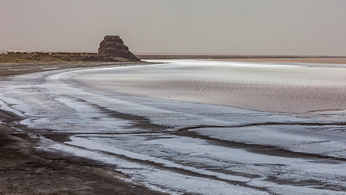 Second largest lake in the Middle East - Lake Urmia