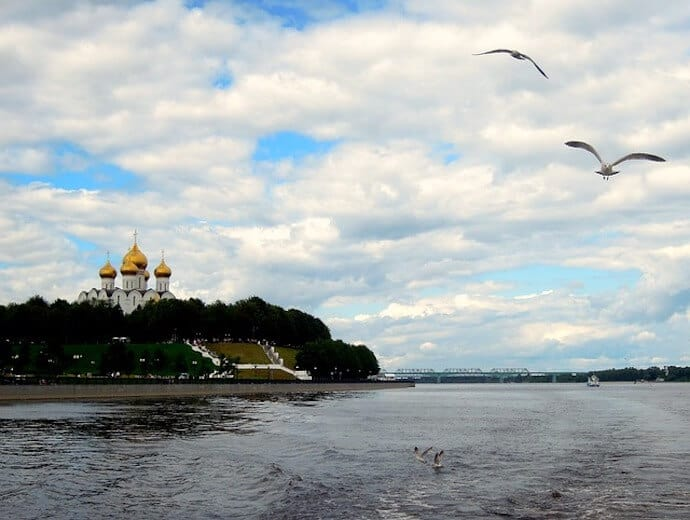 Longest River Europe - Volga