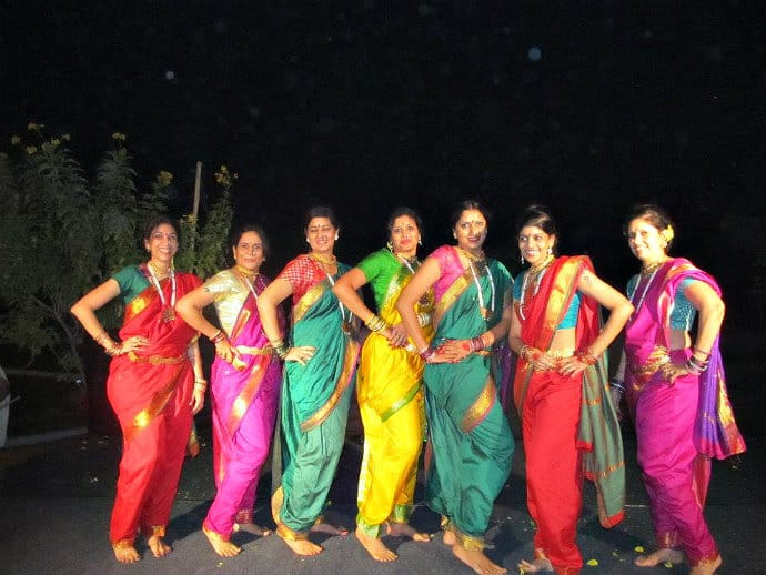 West India Traditional Dress: Nauvari/Kaashtha Saris, Maharashtra