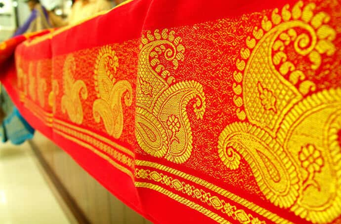 West Indian Embroidery -Zari Gold Thread
