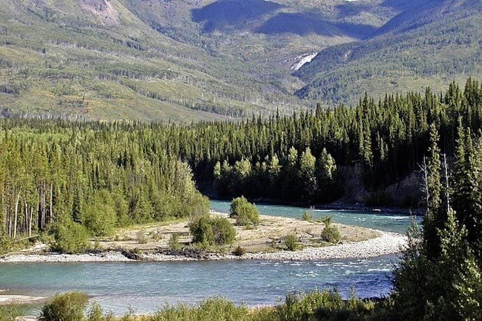 Longest Rivers America - Yukon