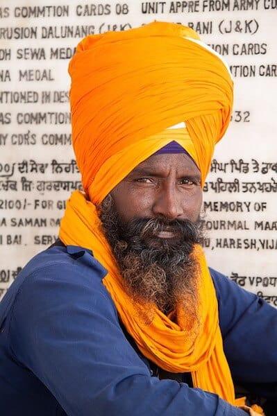 Sikh dastar in Amritsar