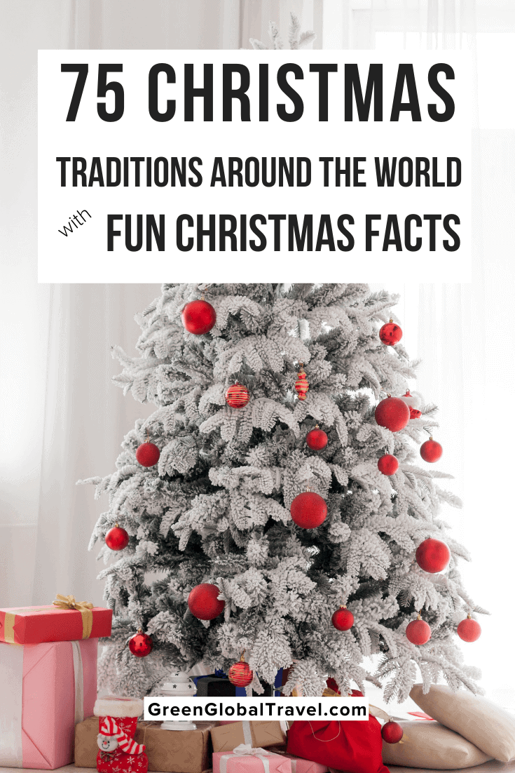 Love Christmas? Check out 75 Christmas Traditions Around The World including Origins of Christmas, Fun Christmas Traditions, Traditional Christmas Dinners, Traditional Christmas Songs, the Origins of Christmas Trees, Traditional Christmas Decorations, Weird Christmas Customs & Fun Christmas Facts |christmas around the world | christmas history | christmas legends | christmas tradition ideas | christmas celebrations around the world | xmas traditions christmas all around the world |christmas in other countries | holiday traditions | christmas in different countries | christmas customs around the world | fun christmas traditions | fun family christmas traditions christmas traditions for kids | christmas day traditions | traditional christmas tree | christmas rituals | different christmas traditions