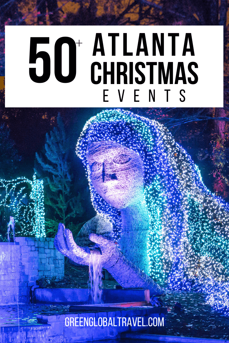 Atlanta Christmas Events: 50+ Things to Do For Christmas in Georgia including Christmas Lights in Atlanta, Christmas Lights in Atlanta, Christmas Events for Kids in Atlanta, Christmas Shows in Atlanta Atlanta Christmas Concerts, Atlanta Charity Events for Christmas, Unique Christmas Things to do in Atlanta, Georgia Christmas Day Trips & more! | christmas things to do | christmas lights in atlanta | christmas events in atlanta | atlanta christmas | atlanta lighting | atlanta christmas parade
