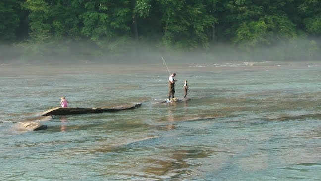 Day Trips From Atlanta: Fishing the Chattahoochee River