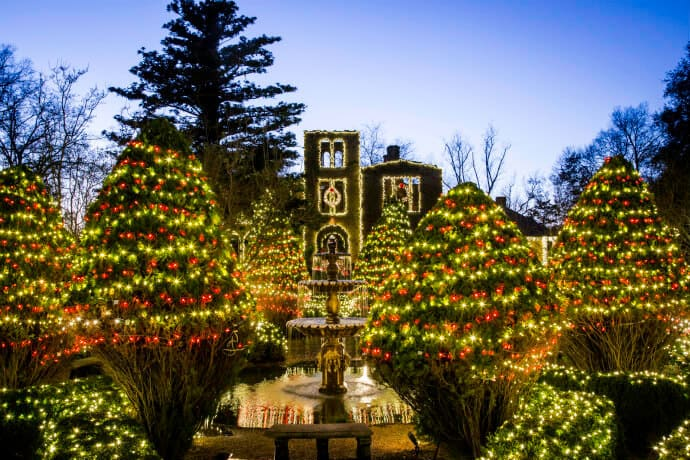 Christmas in Georgia Day Trips from Atlanta, Barnsley Resort