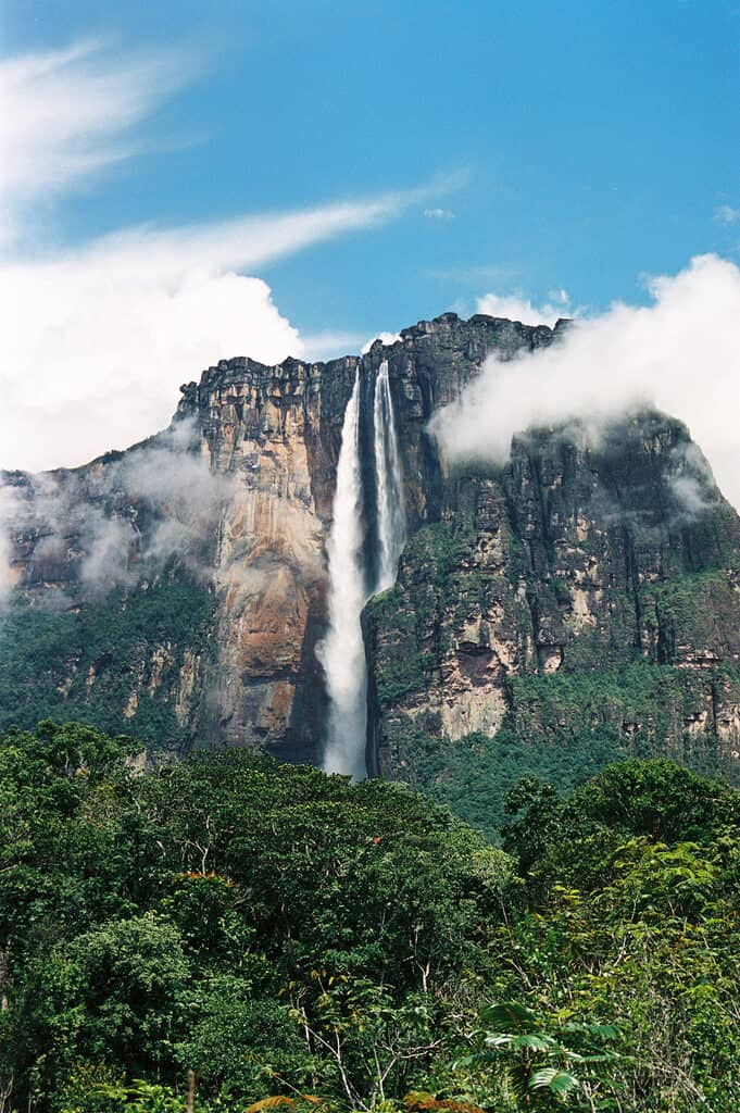 Biggest Waterfall in South America - Angel Falls