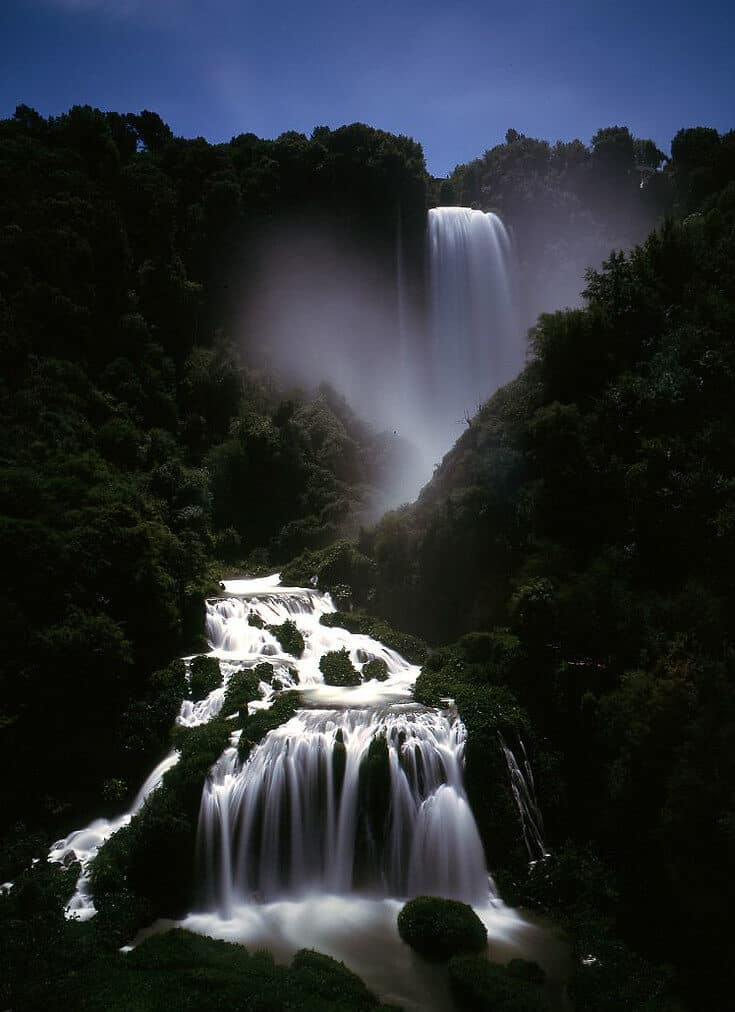 Biggest Waterfalls in Europe -Cascata delle Marmore, Italy