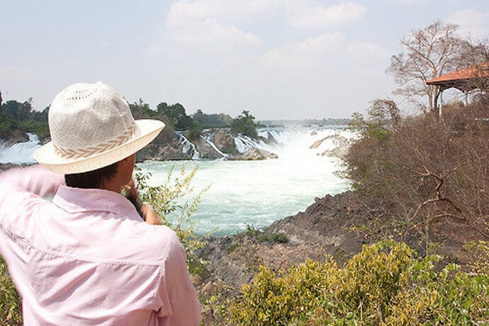 Widest Waterfall in the World (Asia) -Khone Falls