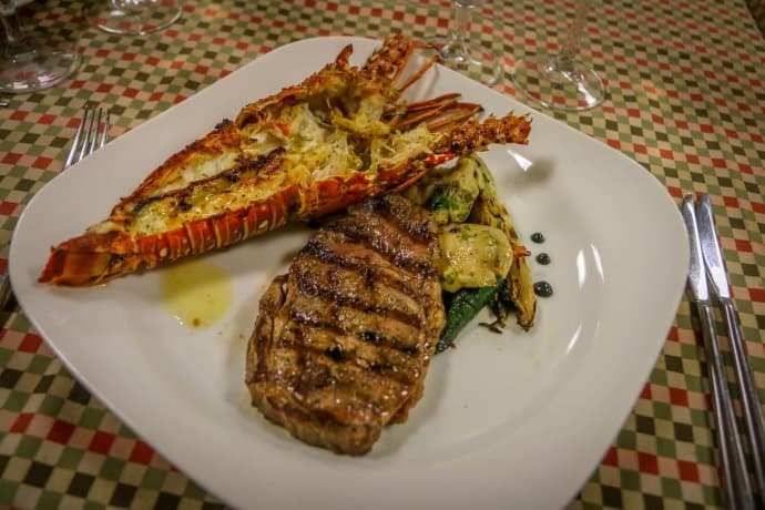 Surf & Turf at Hacienda Tres Rios' Chef's Table