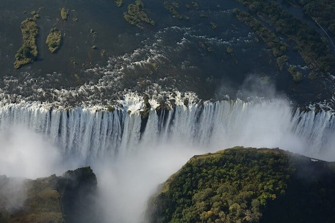 Biggest Waterfalls in Africa -Victoria Falls