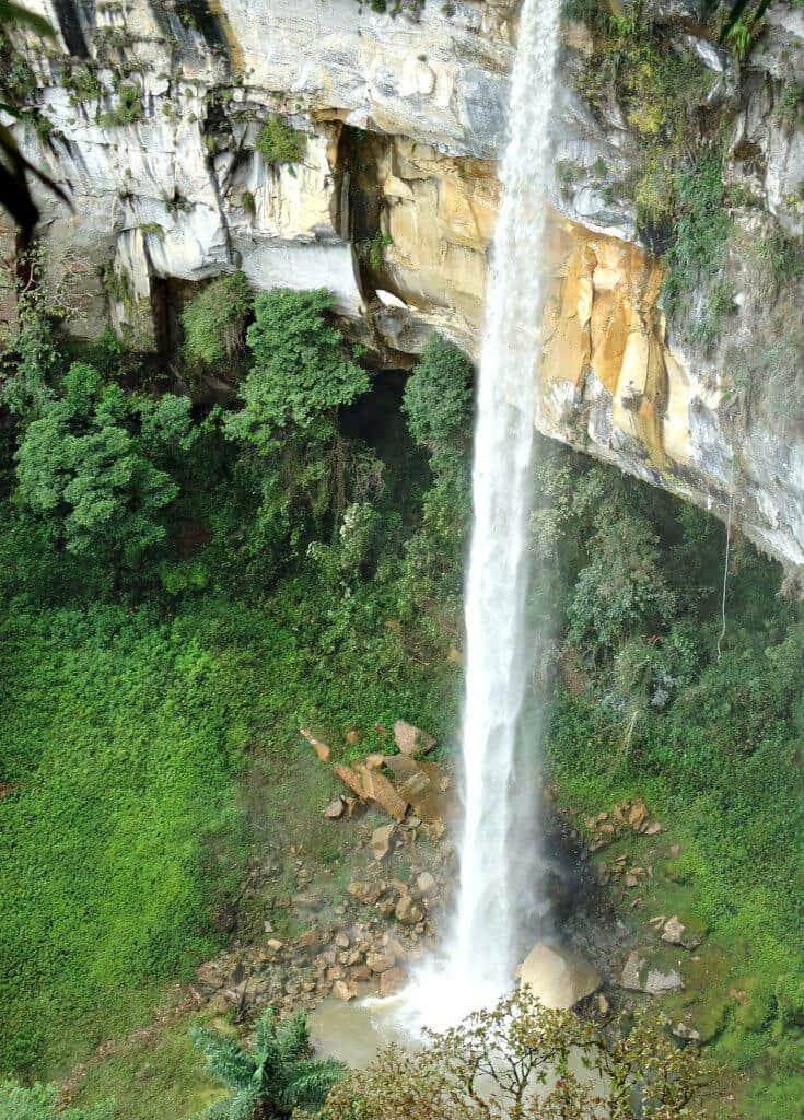 World's fifth highest waterfall- Yumbilla Falls, Peru