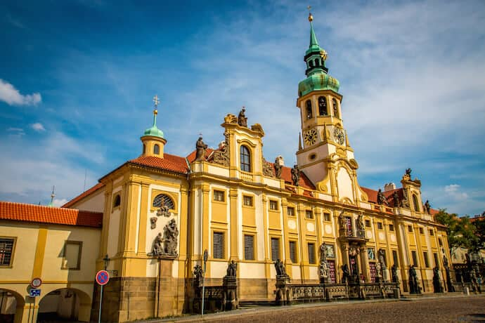 Church of Our Lady of Loreto in Prague, Czech Republic