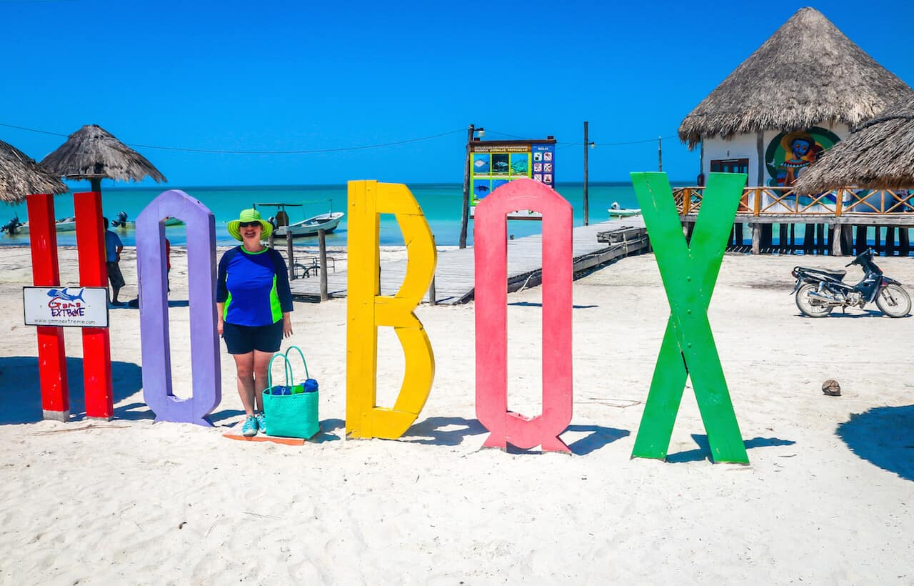 Mary Gabbett of Green Global Travel on Isla Holbox