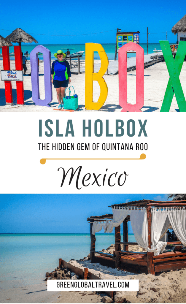 Isla Holbox: the hidden Gem of Quintana Roo including: How to get to Isla Holbox from Cancun & Holbox Ferry, Things to do in Holbox, and Holbox Hotels via @greenglobaltrvl #HolboxIsland #HolboxIslandMexico #islaholboxmexico #islaholboxmexicobeaches #islaholboxmexicohotels #islaholboxmexicocancun #islaholboxmexicoswim #islaholboxmexicowhalesharks