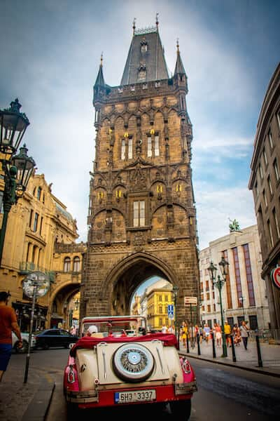 Powder Tower: Powder Gate in Prague