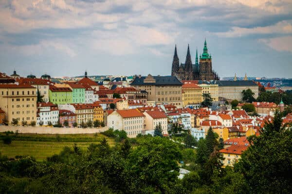 Prague Castle Overlook