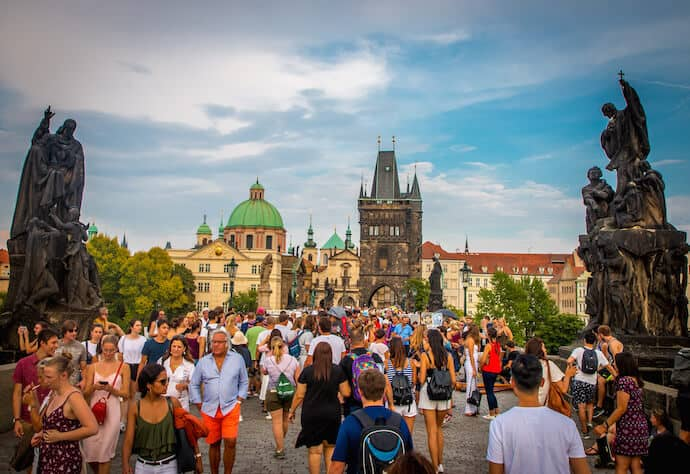 Things to Do in Prague: St Charles Bridge