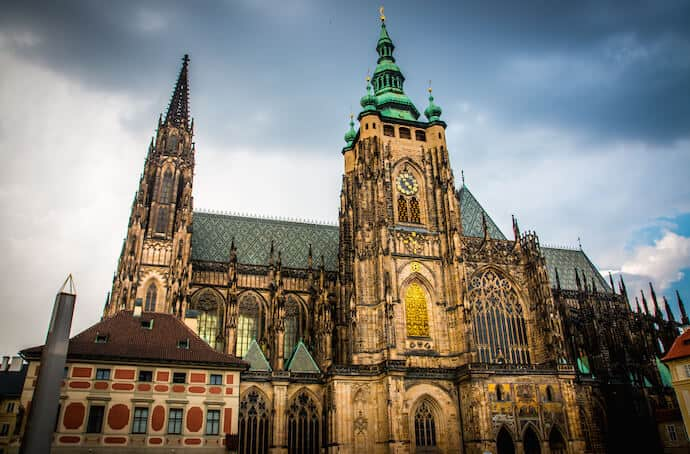 What to See in Prague: St Vitus Cathedral in Prague Castle