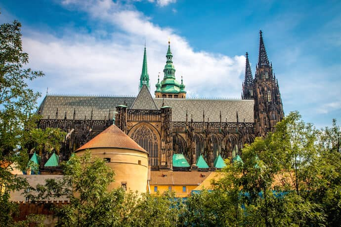 Best Things to Do in Prague: St Vitus Cathedral inside Prague Castle