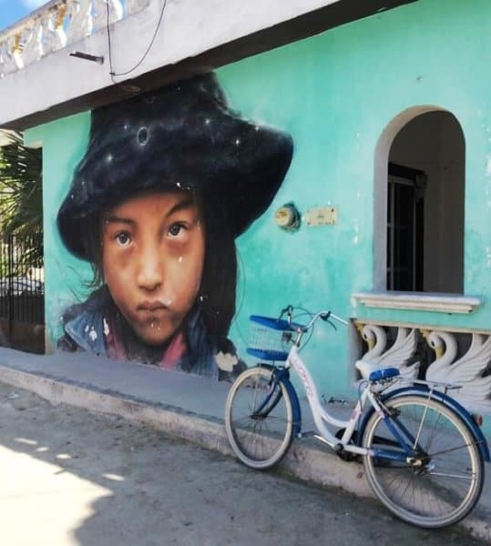 Street Art Mural in Isla Holbox