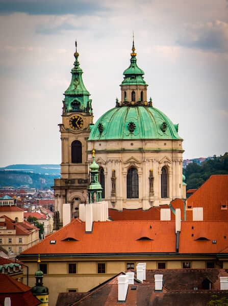 St Nicholas Church in Mala Strana, Prague
