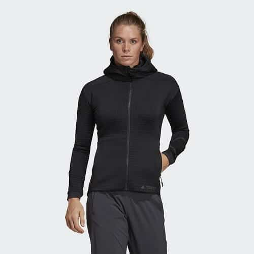 Best Women's Travel Jacket: Adidas Outdoor Power Air Fleece Jacket