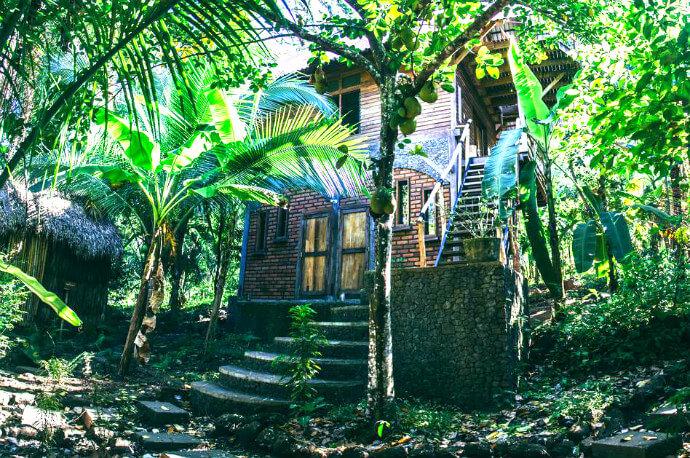 Selveista Guesthouse on Isla de Ometepe Nicaragua