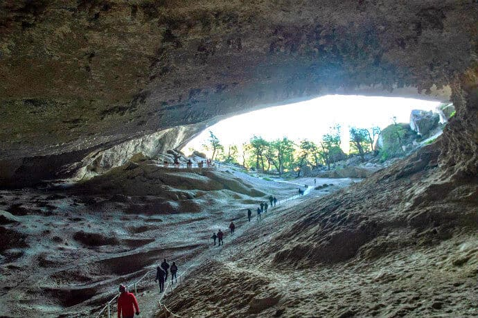 hings to do in Patagonia Chile Milodon Cave