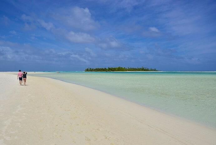 Aitutaki Cook Islands in the Polynesian Islands