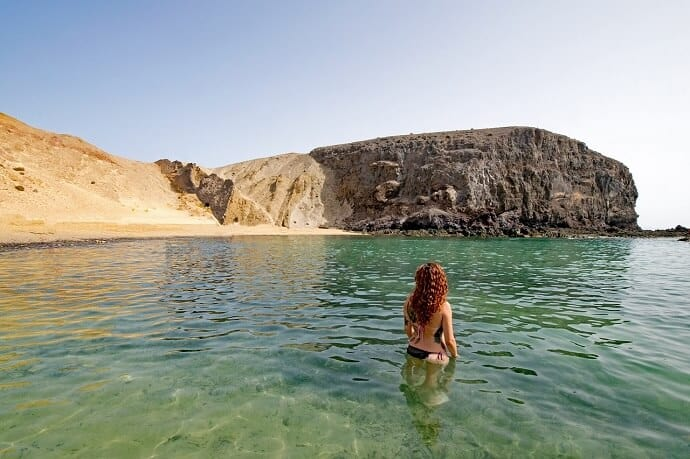 Papagayo Beach, Lanzarote Canary Islands