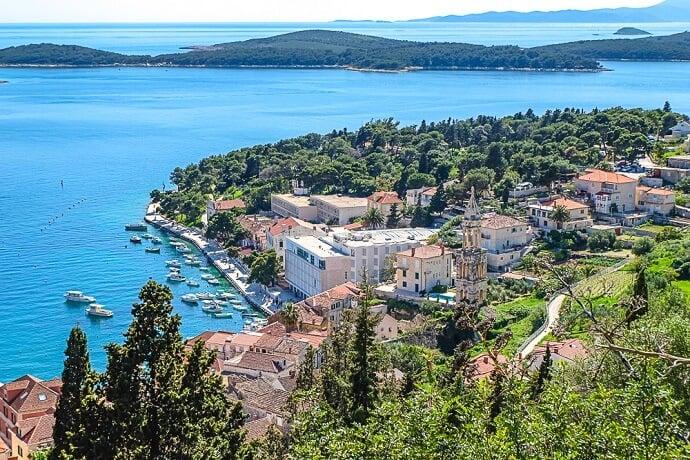 Best Croatian islands -Hvar croatia