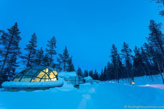 Amazing Accommodation in Kakslauttanen, Finland