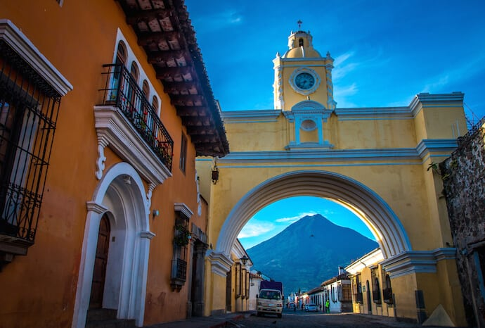 Arco de Santa Catalina in Antigua Guatemala