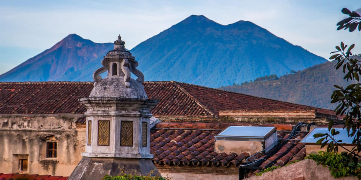 Sunrise in Antigua Guatemala