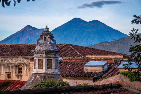 Sunrise in Antigua Guatemala