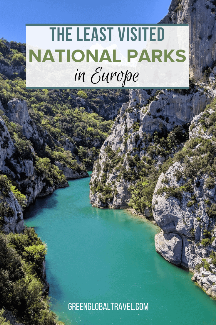 The Best National Parks in Europe to Avoid Crowds includes National Parks in Croatia, Finland, France, Greece, Italy, Slovakia & Wales #via @greenglobaltravel #nationalparkseurope #EuropeTravel #nationalparkseuropebucketlist #nationalparklist #Europehiking