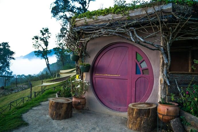 Unique stays in Guatemala -Hobbitenango