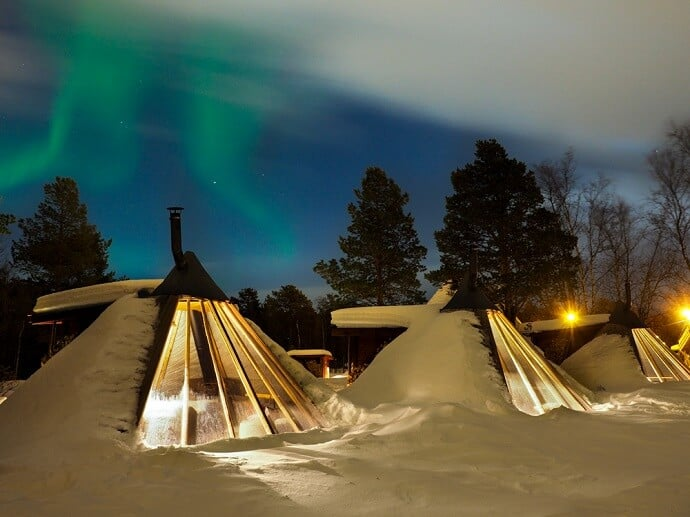 Unusual Accomodation in Norway - Holmen Husky Lodge